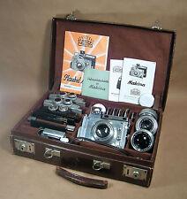 Plaubel Makina IIIR Medium Format 6x9 Complete 3 Lens Complete Camera Outfit!