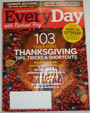 Everyday With Rachael Ray Magazine 103 Thanksgiving November 2013 010915R