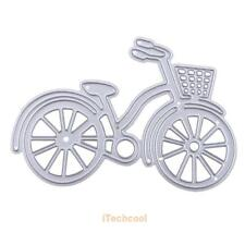 Metal Bike Bicycle Cutting Dies Stencil For DIY Scrapbook Album Paper Card Decor