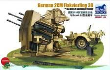 Bronco Models1/35 GERMAN 2cm FLAKVIERLING 38 W/SD.AH.52 CARRIAGE TRAILER CB35057