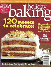 Holiday Baking Magazine Pumpkin Tiramisu Cheesecake Coffee Cake Gingerbread 2011