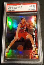 1998 LORENZEN WRIGHT FINEST REFRACTOR  #166 PSA 10  POP 1 CLIPPERS   (441)