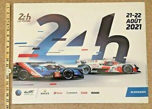 2021 LE MANS 24 HOURS HEURES DU MANS RACE POSTER