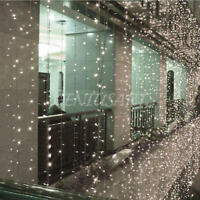 10m 100 LED White String Light Chain Wedding Party Christmas Decor With EU Plug