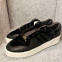 *New* adidas Originals Rivarly Low Black White Men's Velvet EH0181 Size 9