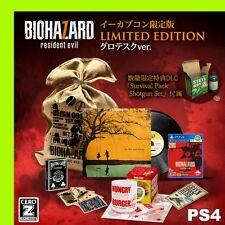 New PS4 Biohazard 7 CERO Z Resident Evil e-capcom Limited Edition Japan