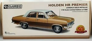 CLASSIC CARLECTABLES 1:18 HOLDEN HR LANDALE GOLD -18605 *With Shipper box*