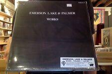 Emerson Lake & Palmer Works Volume 1 2xLP sealed vinyl RE reissue
