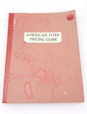 American Flyer Pricing Guide By Tom Barker 1976