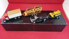 29. Large Lot of diecast trucks/cars/construction trailer-model railroad size