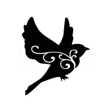Lovely Bird Animal Car Sticker Home Window Laptop Auto Truck Vinyl Decals Black
