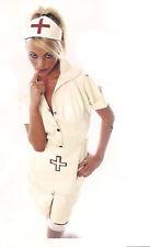 THE FEDERATION RUBBER LATEX NURSE UNIFORM DRESS BRAND NEW CROSS DRESS