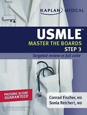 Kaplan Medical USMLE Master the Boards Step 3 Fischer, Conrad, Reichert, Sonia