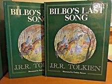 J.R.R. Tolkien - Bilbo's Last Song -UK 1st/1st, w/Priced Jacket 1990, The Hobbit