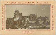 Chromo Grands magasins du Louvre Château de Vincennes le donjon