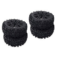 4pcs RC pneus de jante de roue de voiture 1/8 RC Truggy Truck Accessory Field