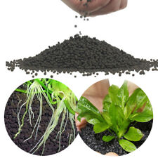 50G Aquarium Sand Fish Tank Substrate Soil Fertilizer Plant Seeds Ornament Black
