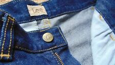 Men's/ Youths Rare Vintage Lee New City Slim Fit Denim Jeans Size 27 x 36 Blue