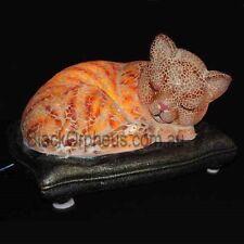 Cat Lamp, Table Lamp, Sleeping Cat Lamp.