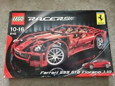 Lego Technic Racers 8145 Ferrari 599 GTB Fiorano 1:10 totalmente nuevo Abierto En Caja Raro