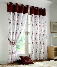 Ready Made Voile Floral Panels