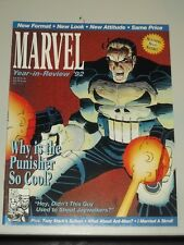 MARVEL YEAR IN REVIEW 1992 US MAGAZINE PUNISHER IRON MAN ANT MAN SKRULL