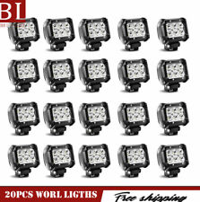 20X 18W Spot LED Off Road Work Light Lamp 24V For Car Boat Truck Square ATV