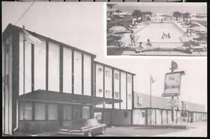 MYRTLE BEACH SC Buccaneer Motel & Apts Vtg B&W Postcard Old South Carolina PC