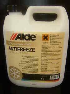 Alde Premium G13 Antifreeze for Caravan Wet Central Heating System 4 litre