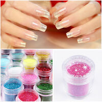 10g/Box  Shining Nail Art Shiny Glitter Powder  Decoration