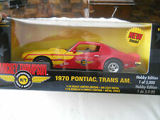 1970 Pontiac Trans Am Mickey Thompson Ertl Hobby Edition 1 of 5000 1:18