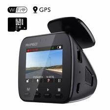 2019 New AKASO V1 WiFi Dash Cam Car Camera FHD 1080P DVRs with GPS Night Vision