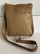 Radley Leather Cross Body Bag Tan
