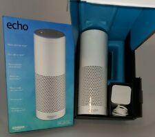 Amazon Echo Alexa Enabled Bluetooth Smart Speaker 1st Generation WHITE