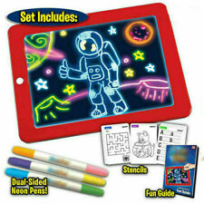 New ListingChild Drawing Tablet Light Drawing Board Writing Craft Art for Children Kid Xams