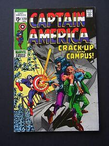 Captain America #120 VF/NM 1969 High Grade Marvel Comic Silver Age