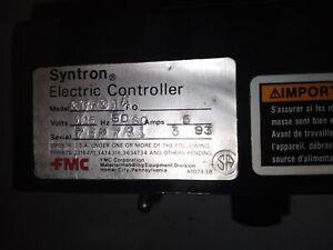 FMC SYNTRON ELECTRIC CONTROLLER CTRC1A 115V 50-60HZ 5AMPS 762781 A107438