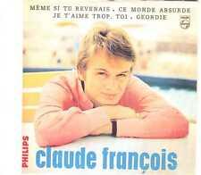 Claude François - Même Si Tu Revenais - CDS - 2000 - Chanson 4TR Cardsleeve