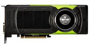 NVIDIA Quadro M6000 24GB DDR5 GPU PCIe 3.0 x16 DVI, 4x Display Port Graphic Card
