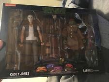 NECA wal mart TMNT Casey Jones And Raphael Teenage Mutant Ninja Turtles-2 Pack