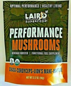 Laird SUPERFOOD: Performance Mushrooms, 3.17 oz || FUNCTIONAL FUEL SUPPLEMENT