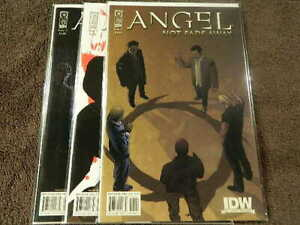 2009 IDW Comics ANGEL Not Fade Away #1-3 Complete Limited Series Set - VF/NM