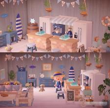 New Horizons - 🌴54 PCs Blue Summer Beach Style Living Room Furniture Item Set🌴