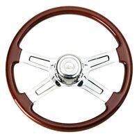 """18"""" 4 Spoke Steering Wheel for Peterbilt 1998+ and Kenworth 2001+"""