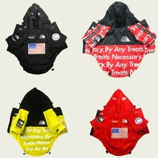 Dog Waterproof Coat The Face Jacket Pet Raincoat Reflective Vest Outdoor Dogs