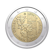 "Finland 2 Euro commemorative coin 2016 ""Henrik von Wright"" - UNC"