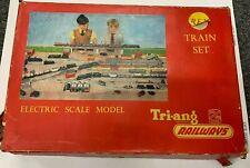 Vintage Triang REX Goods Train Set in Original Box c1950's No Reserve OO Gauge