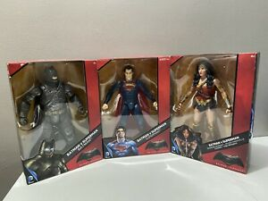 "DC Comics Multiverse - Batman v Superman - 12"" Action Figures - Set of 3 - New"