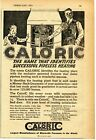 1921 small Print Ad of The Monitor Stove Co Caloric Pipeless Furnace photo