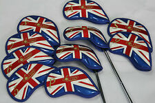 10 Golf Mad PU Fer Couvre Golf Headcovers for Ping Titleist Cobra Nike seulement